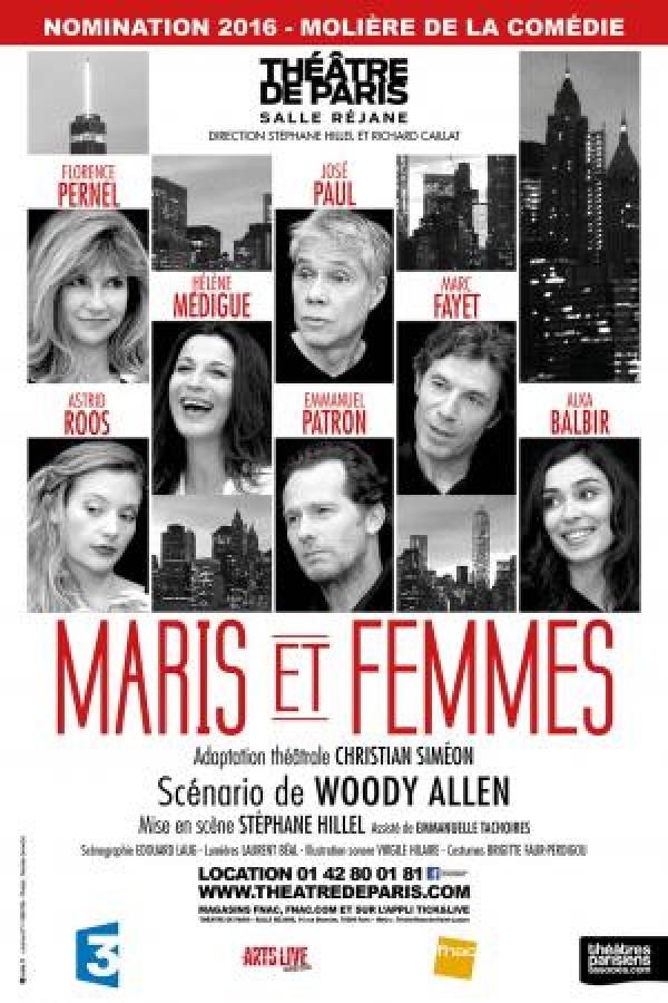 Maris et femmes au Théâtre de Paris : reprise