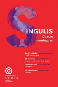 Singulis : quatre monologues à la Comédie Française