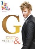 Gérémy Crédeville : Parfait et modeste au Théâtre des Blancs-Manteaux