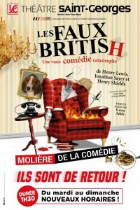 Les Faux British au Théâtre Saint-Georges