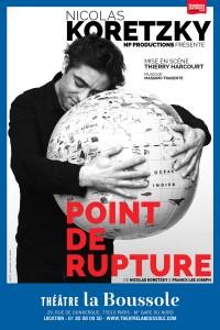 Nicolas Koretzky : Point de rupture au Théâtre La Boussole