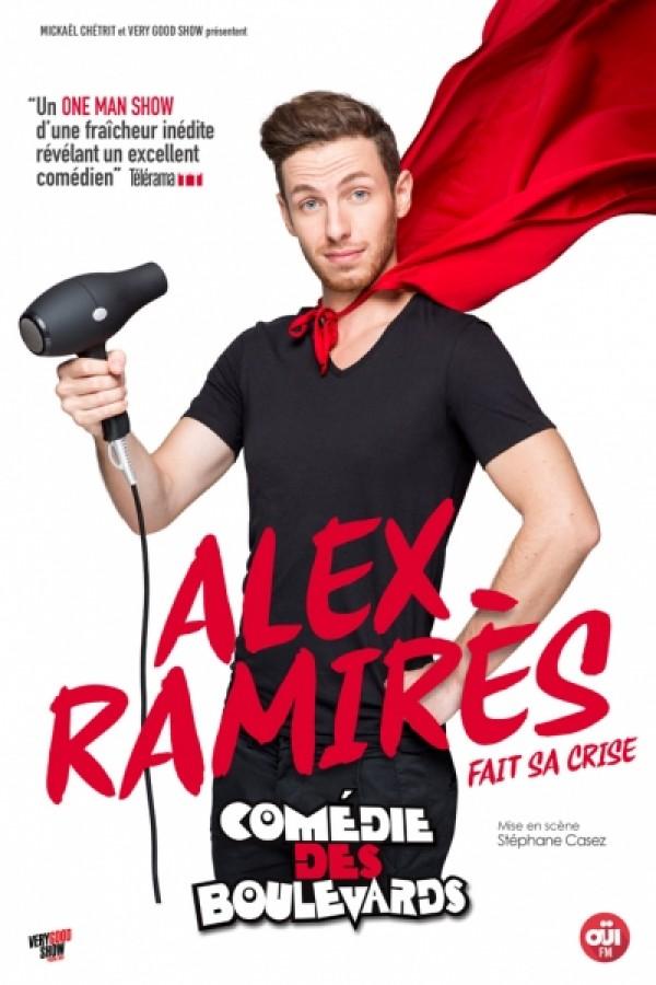 Alex Ramirès fait sa crise à la Comédie des Boulevards