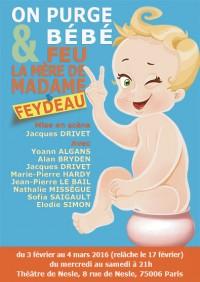 On purge bébé / Feu la mère de madame au Théâtre de Nesle