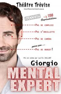 Giorgio : Mental Expert au Théâtre du Gymnase