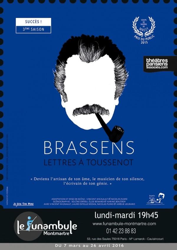 Georges Brassens : Lettres à Toussenot au Funambule