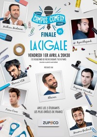 Campus Comedy Tour à La Cigale